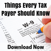 Article 15 Things Every Tax Payer Should Know